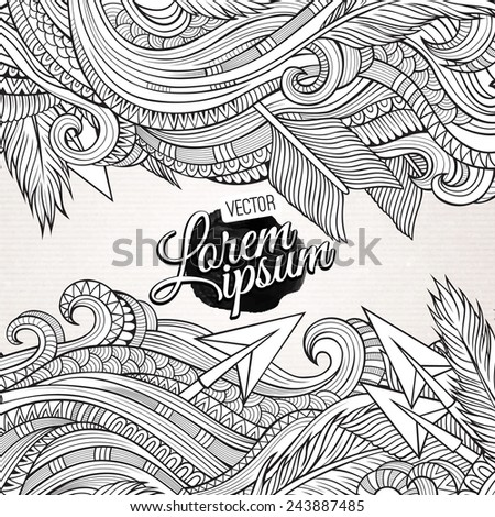 abstract vector decorative