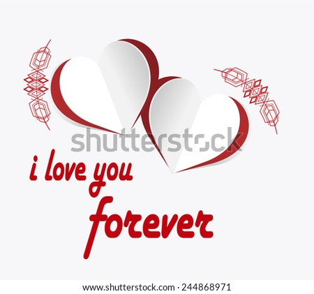 love  illustration  hearts and