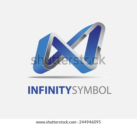 3 d vector abstract iron curve