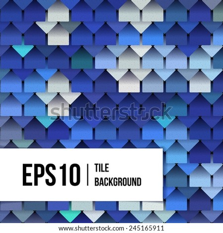 marine background of squares