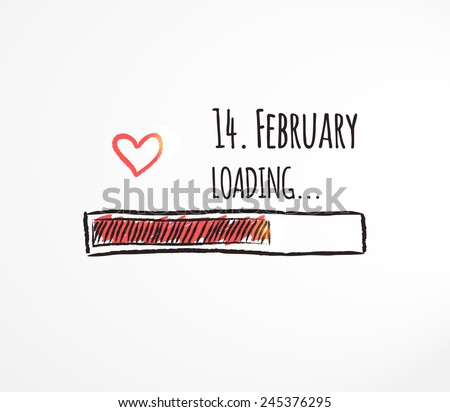 14 february loading love