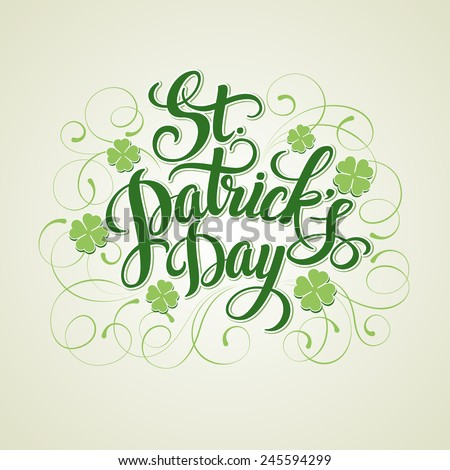 st patrick's day greeting