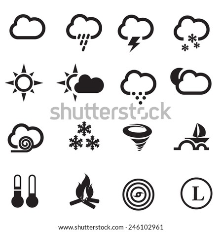 weather icons vector files