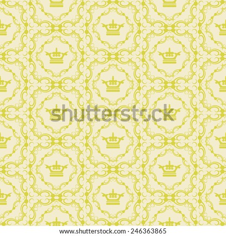 damask decorative wallpaper for