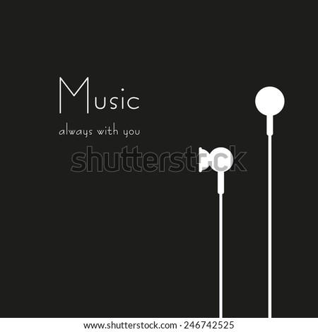 minimalistic vector ear