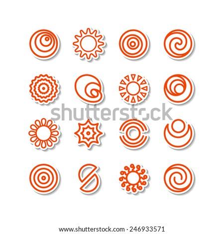set   miscellaneous icons a