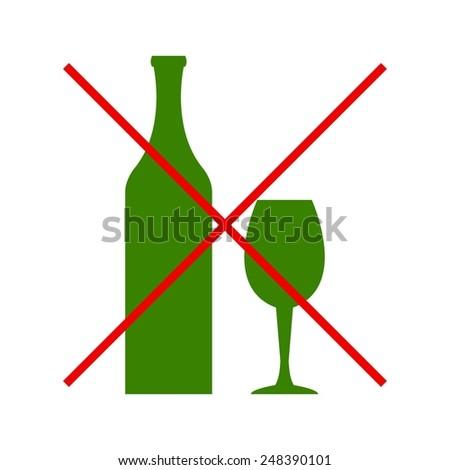 vector illustration of  bottle