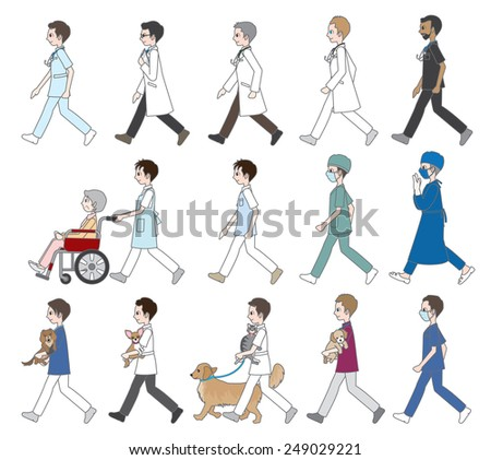 those who are walking   doctor
