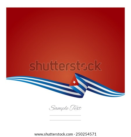 abstract color background cuban