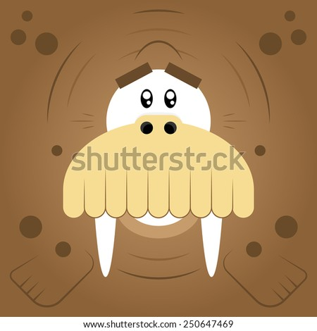 vector illustration funny