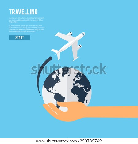 world travel aircraft jet