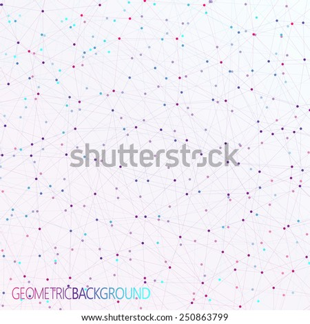 colorful background dots with