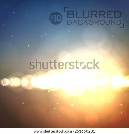 abstract soft blurred vector