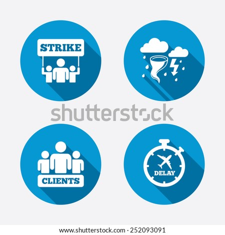 strike icon storm bad weather