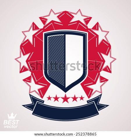 royal stylized vector graphic