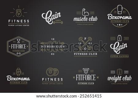 set of vector fitness aerobics