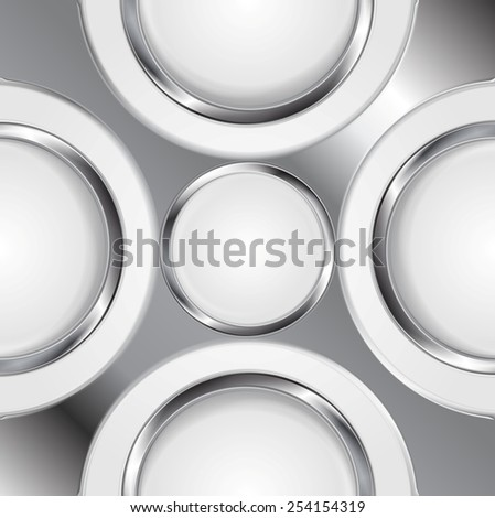 abstract background with silver