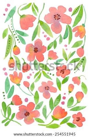 spring flowers pattern 11
