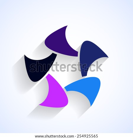 abstract formvector