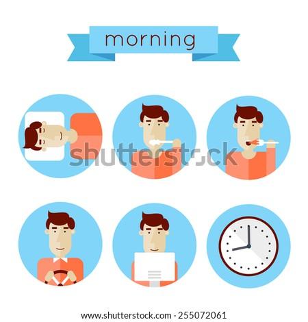 morning procedures woke up