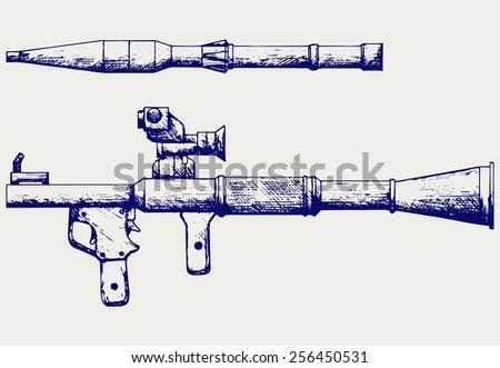 anti tank rocket propelled