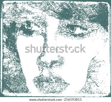 illustration of the face of a
