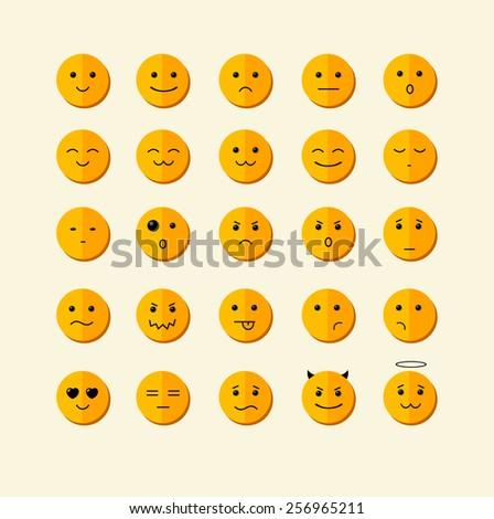 vector illustration smile icon
