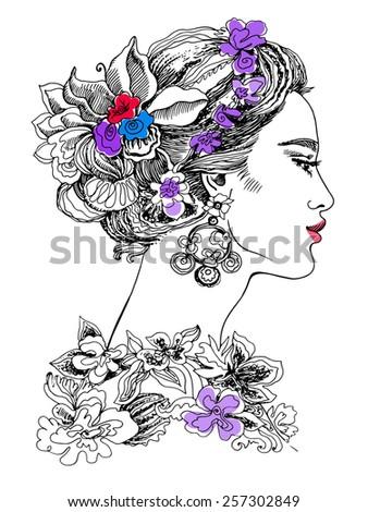model flora
