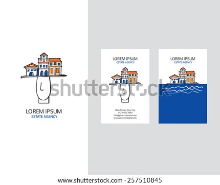 template logo for real estate
