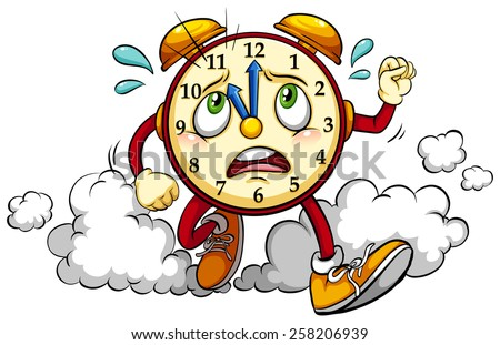 clock showing the eleventh hour