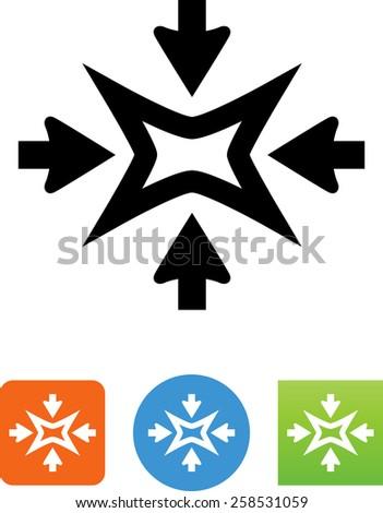 shrink symbol for download