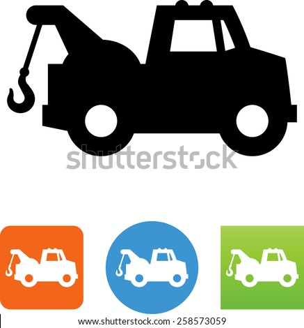 Tow Truck Clip Art Free Vector Download 215122 Free Vector For