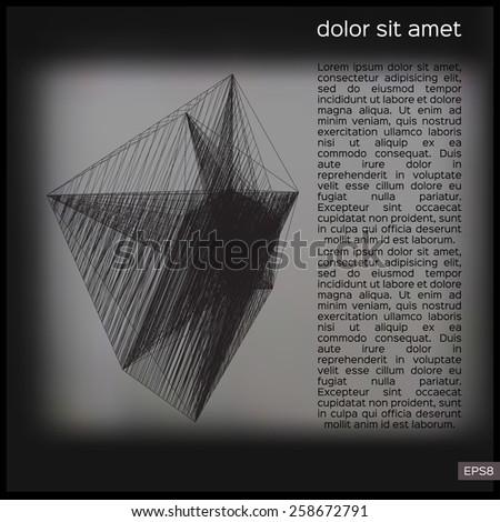 abstract geometric lattice on a