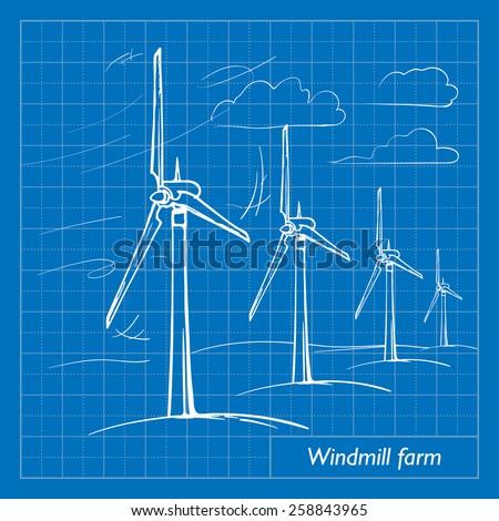 wind farm is a series of wind