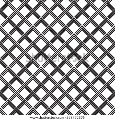 japanese square vector seamless