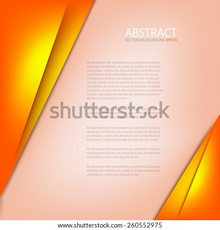 orange paper background with