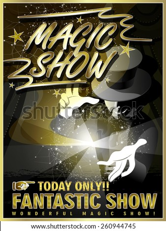 fantastic magic show poster