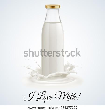 banner i love milk closed