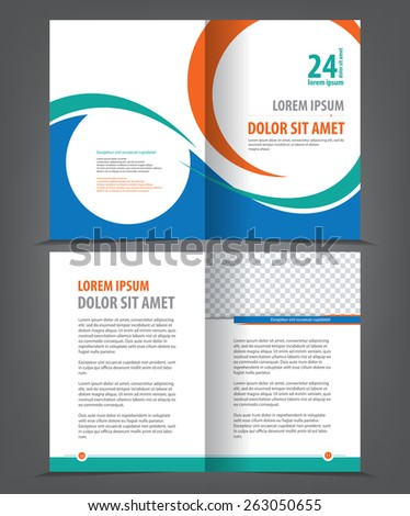 coreldraw booklet template free vector download 17 929 free vector