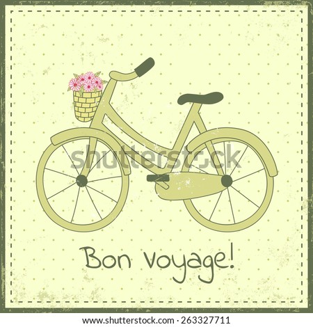 greeting card template with