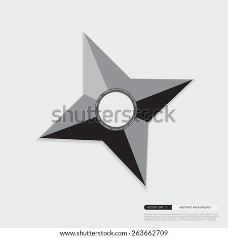 ninja shuriken star weapon