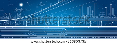 car overpass  industrial