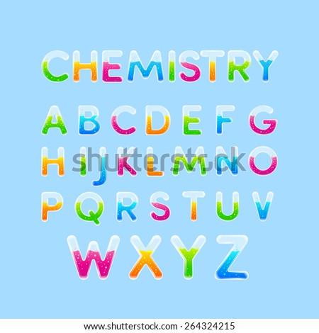 test tubes   chemistry alphabet