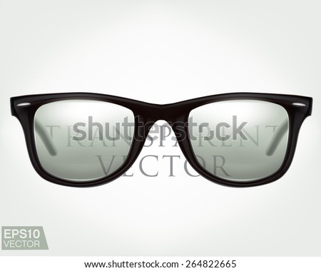 black sunglasses realistic