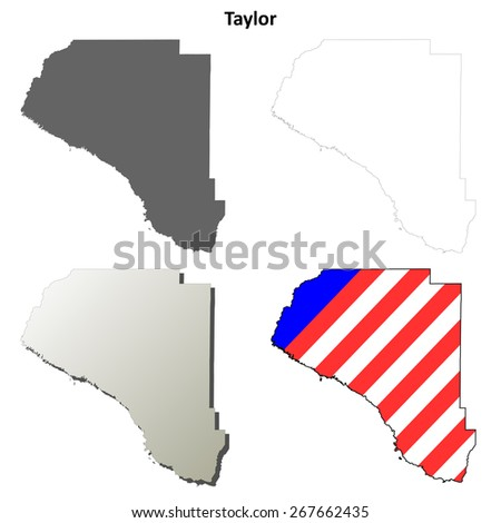 taylor county  florida  outline