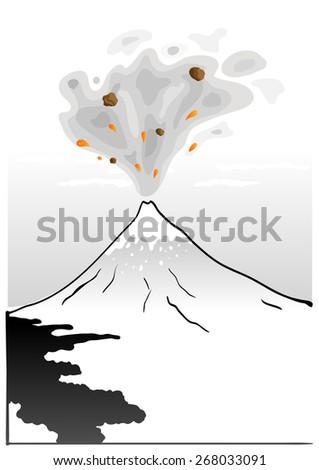 mountain fuji  japanese art