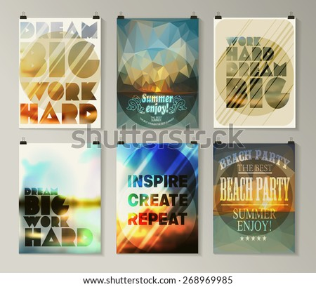 quote poster typographical