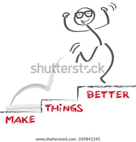 vector image make things better