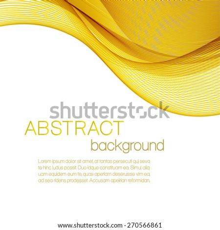 yellow wavy background