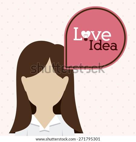 big idea design over white